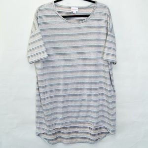 Gray striped Irma Tunic